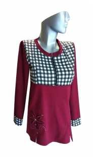 Блуза за кърмачки и бременни 0851