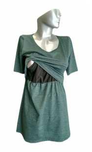 Блуза за кърмачки с къс ръкав 08560