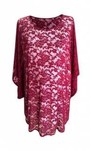 Официална блуза за едри жени 0852
