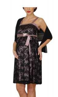Официална рокля за макси дами от дантела - модел 0518
