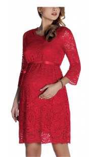 Официална рокля за макси дами от дантела - модел 0551