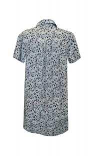 Риза за макси дами с къс ръкав - модел 08307