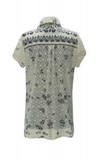 Риза за макси дами бродиран памук - модел 08307