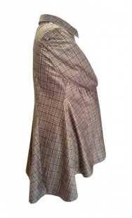 Риза за макси дами фрак от велур 08309