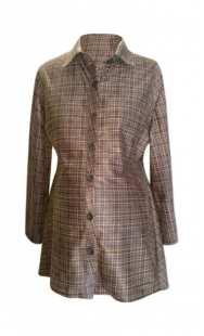 Риза за макси дами фрак велур 08309