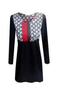 Блуза за бременни 08202 в комбинация