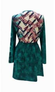 Блуза за бременни 0826 велурено трико