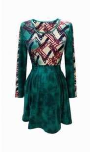 Блуза за бременни в зелено - модел 0826