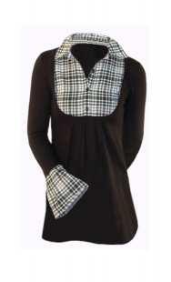 Блуза за бременни в комбинация - модел 08291