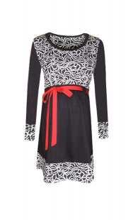 Блуза за бременни в комбинация - модел 086