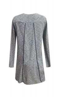 Блуза за бременни в сиво - модел 0866