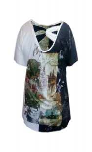 Блуза за бременни кимоно - модел 0842
