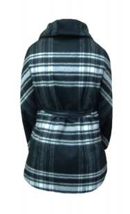 Пелерина за бременни 092 в сиво-черно