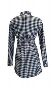 Риза за бременни каре - модел 08326