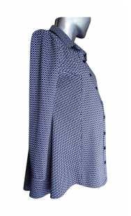 Риза за бременни фрак 08309 от пепит