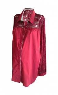 Риза за бременни в комбинация 08309