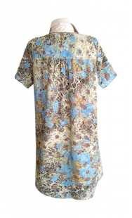 Риза за бременни с къс ръкав 083071