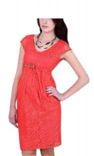 Официална рокля за бременни 0521 дантела