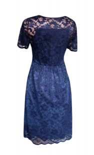 Официална рокля за бременни от дантела - модел 0532