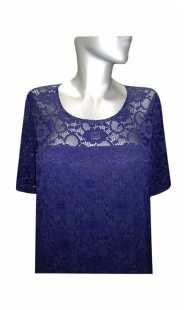 Официална рокля за бременни 05150 дантела