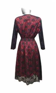 Официална рокля за бременни 0526 дантела